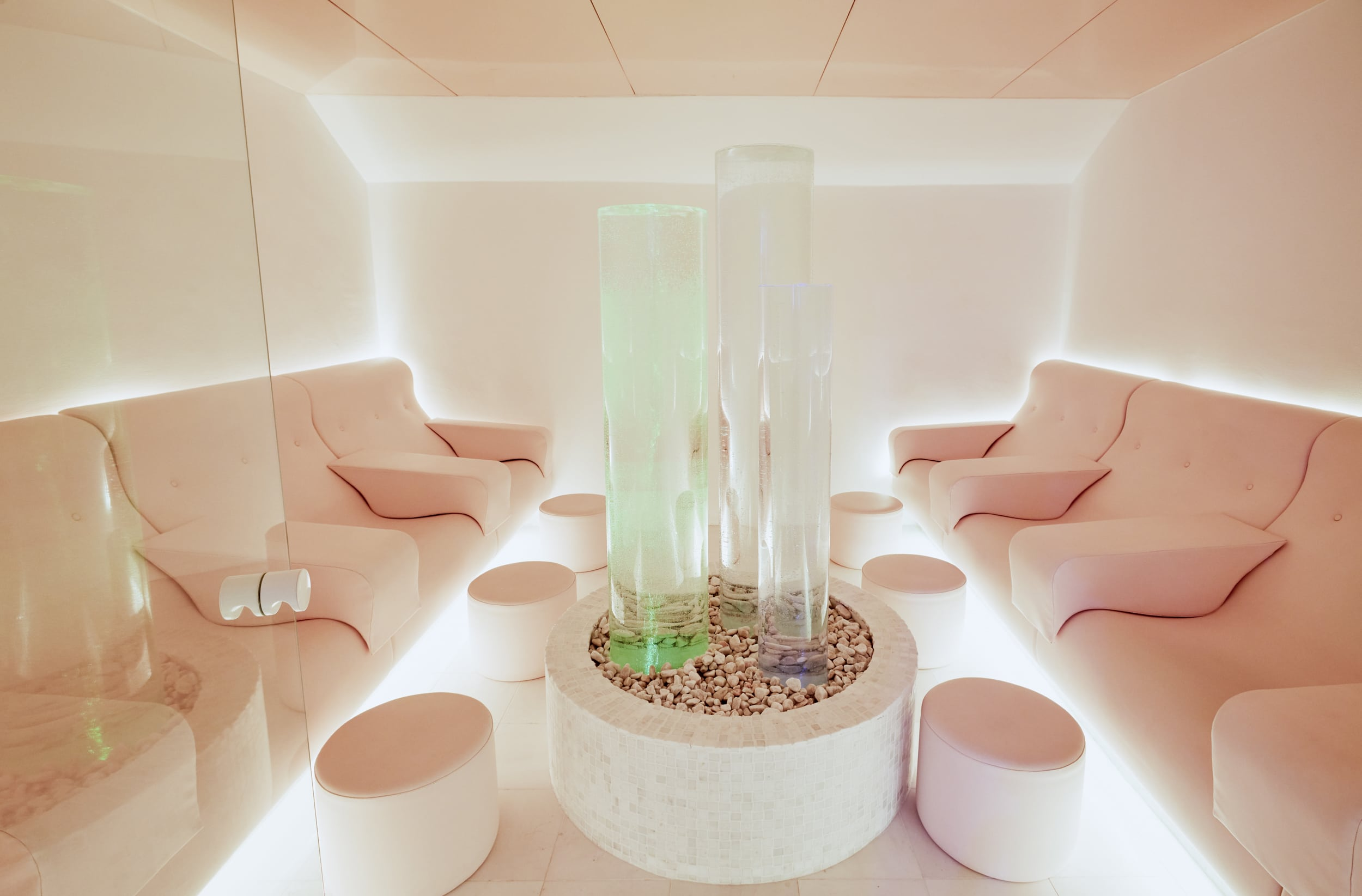 Spa with chairs